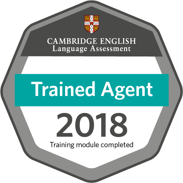 Trained Education Agent 2018 - Cambridge English Language Assessment