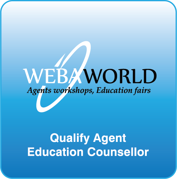 WEBA WORLD - Agents workshops, Education fairs - Qualify Agent Education Counsellor